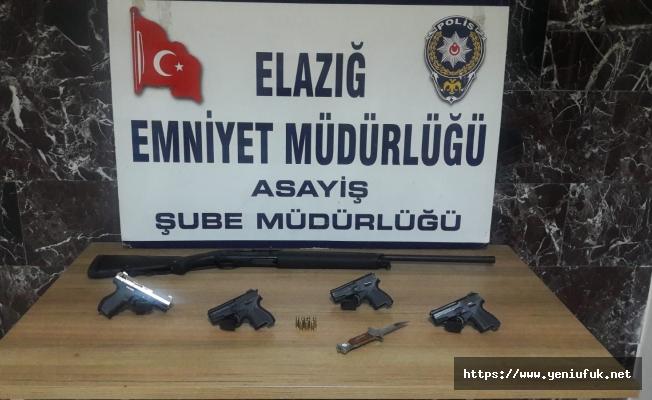 Elazığ'da Asayiş Uygulamasında Yakalanan 47 Kişi Tutuklandı