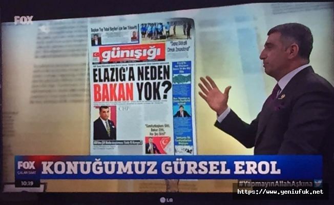 İsmail Küçükkaya ile Çalar Saatte Günışığı Gazetesinin Manşeti Konuşuldu