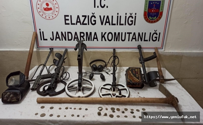Jandarma, 37 Adet Tarihi Sikke Ele Geçirdi
