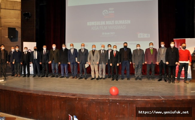 'Komşuluk Mazi Olmasın Kısa Film Yarışması ' Ödül Töreni Gerçekleştirildi