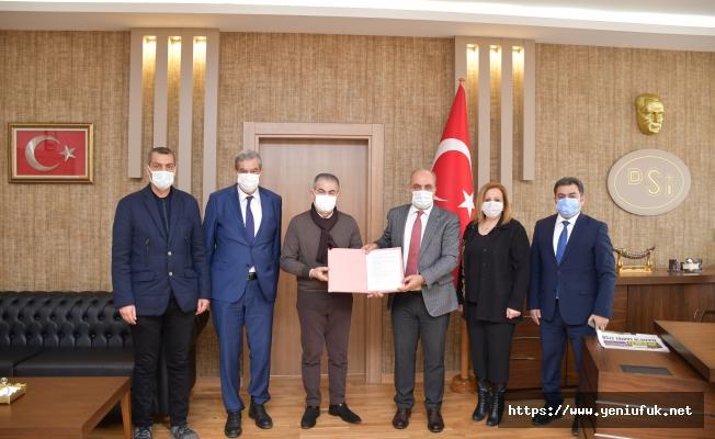 Tarhana Regülatörü ve İletim Tüneli Sözleşmesi İmzalandı
