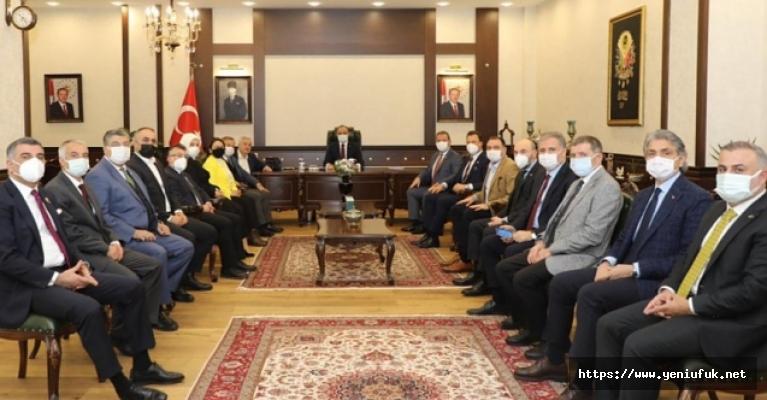 Araştırma Komisyonu Üyeleri Elazığ'da