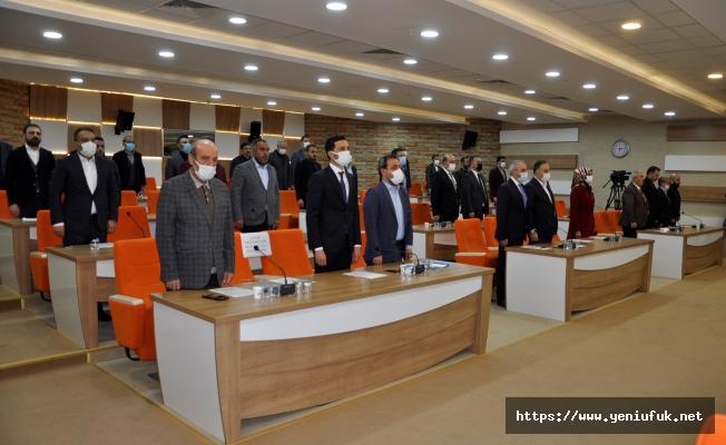 Belediye Meclisi ilk oturumunu yaptı