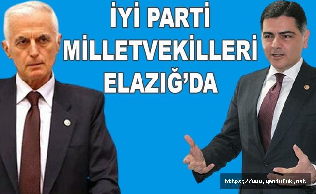 İYİ PARTİ Milletvekilleri Elazığ'a Geliyor