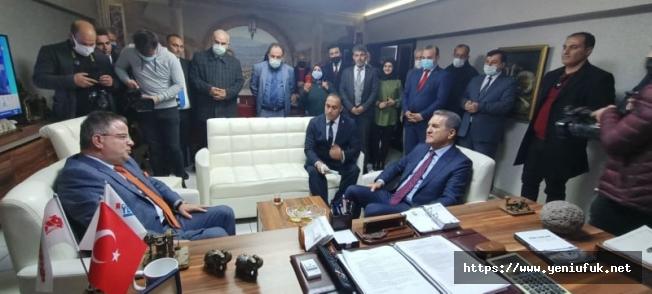TDP Lideri Sarıgül'den Koca'ya Özel ziyaret