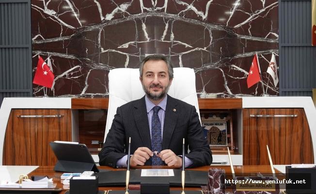 Başkan Arslan'dan Umut Verici Açıklama