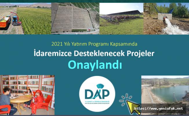 DAP Bu yıl Elazığ'da 14 projeye destek verecek