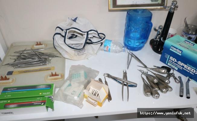 Klinik Açan Sahte Diş Hekimi Yakalandı