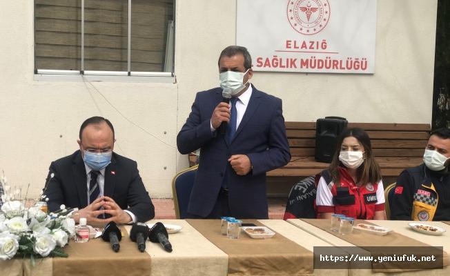 PROF. DR. CAHİT POLAT VALİ YIRIK'A TEŞEKKÜR