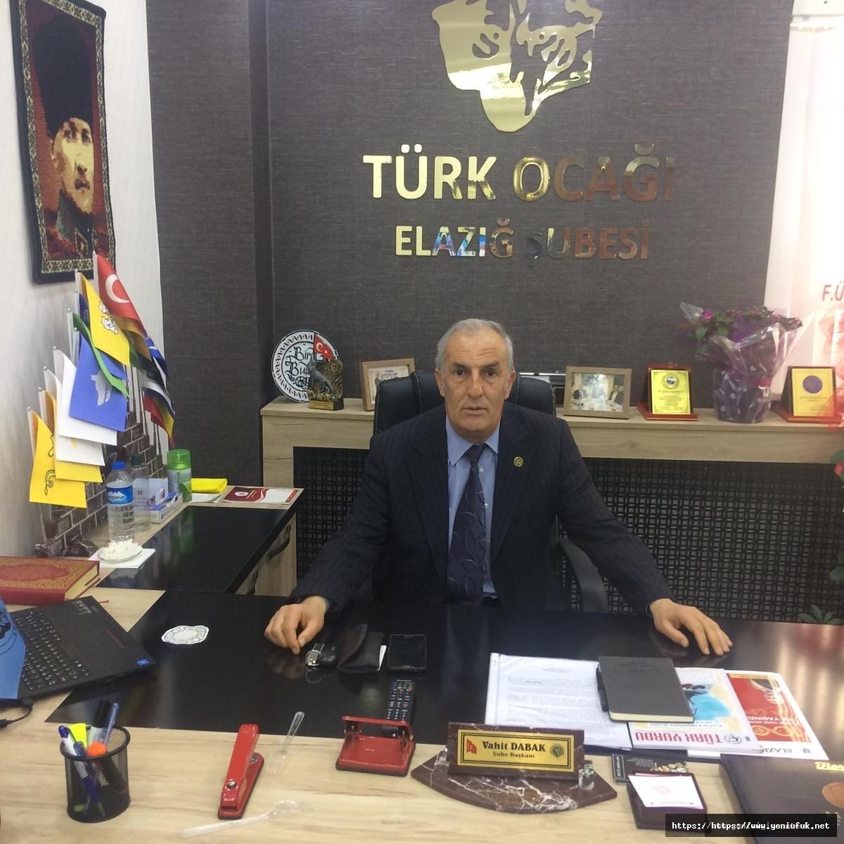 Türk Ocakları'ndan andımız çıkışı