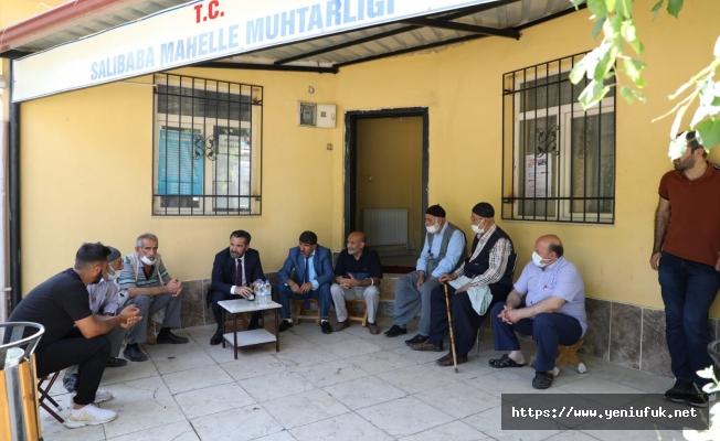 Başkan Şerifoğulları'ndan Salıba'ya Ziyaret