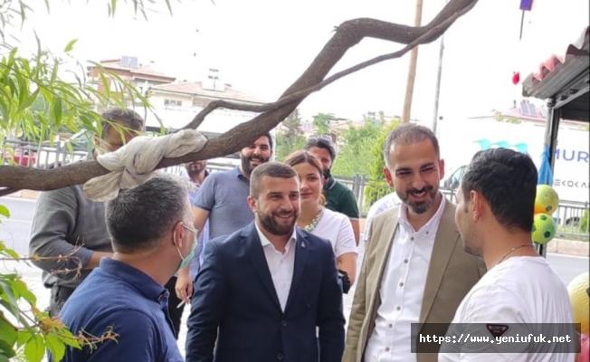 Demokrasi ve Atılım (DEVA) Partisi Elazığ İl Teşkilatı bu hafta da Yazıkonak Beldesini ziyaret etti.