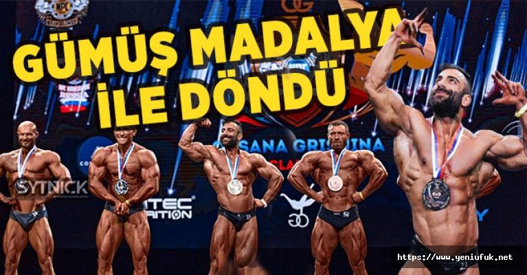 Elazığlı sporcu Buğra Keskin Altın Madalya kazandı