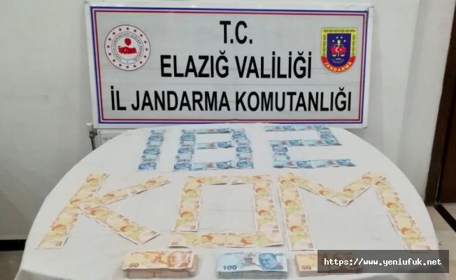 Sahte parayı piyasaya sürmek isteyen şüpheliye Jandarma engeli