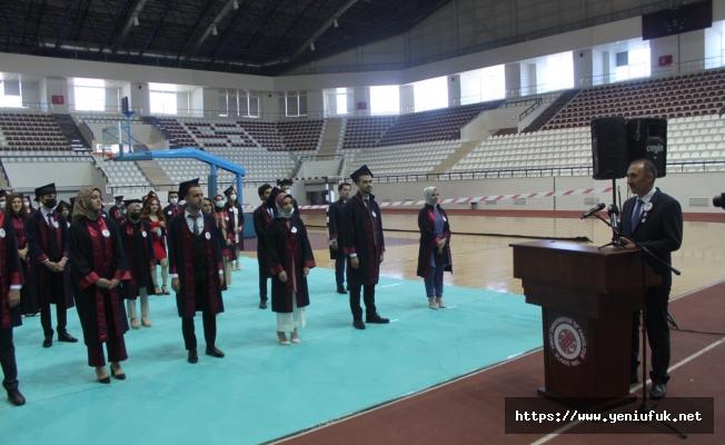 Tıp Fakültesi 33. Dönem mezunlarını verdi