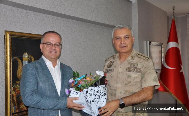 Albay Yıldız'dan Anlamlı Ziyaret