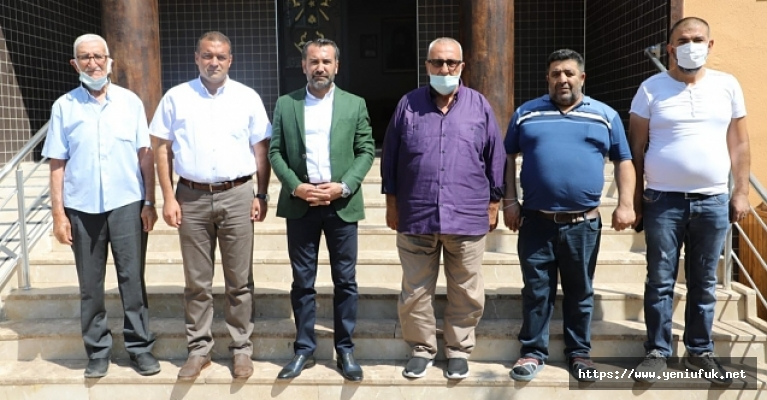 Başkan Şerifoğulları Ehlibeyt Cemevi'ni Ziyaret Etti