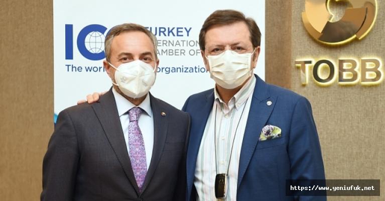 Başkan Arslan, ICC Türkiye Milli Komitesi Genel Kurulu Toplantısına katıldı…
