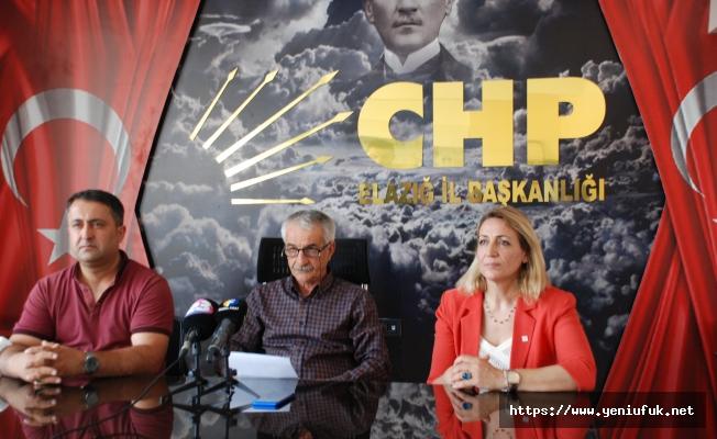 CHP'den Ekonomik Kriz Açıklaması