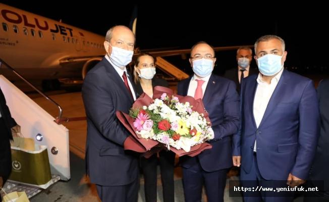 Cumhurbaşkanı Tatar Elazığ'a Geldi
