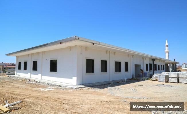 Elazığ Belediyesi Mezarlıklar Müdürlüğü yeni hizmet binası inşaatı tamamlandı.