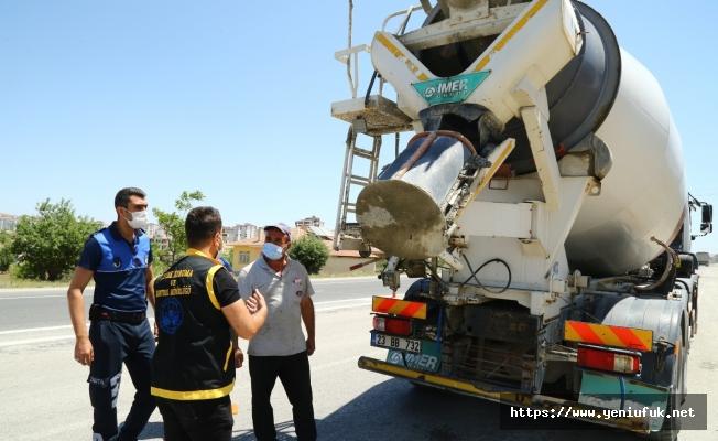 Elazığ Belediyesi'nden Beton Firmalarına Uyarı