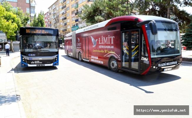Elazığ'da Ulaşım Hizmetleri Bayramda Ücretsiz