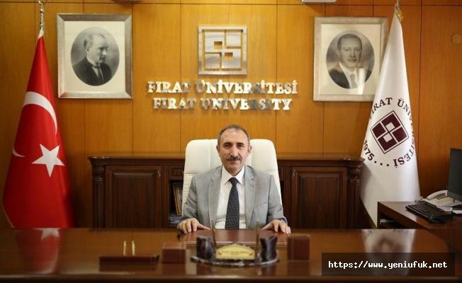 FIRAT ÜNİVERSİTESİ REKTÖRÜ PROF. DR. GÖKTAŞ BAYRAM MESAJI YAYIMLADI