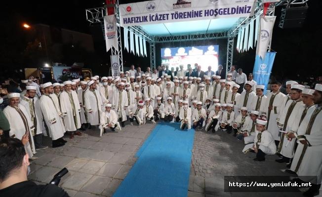 Harput'ta Hafızlık İcazet Merasimi Yapıldı