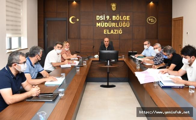 Hatunköy Barajı Proje Yapımı Ön Raporu Değerlendirildi