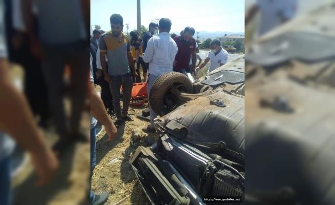 Kovancılarda Trafik Kazası 1 Ölü 3 Yaralı