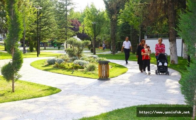 Murat Atlı Parkı Yoğun İlgi Görüyor