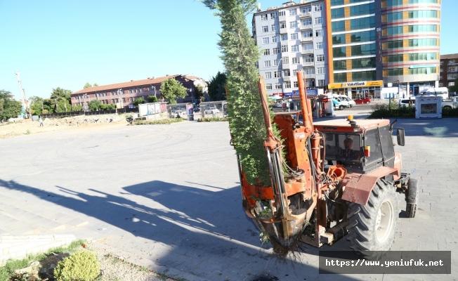 Şehrin Yeni Vizyon Projesinde İnşa Çalışmaları Başladı