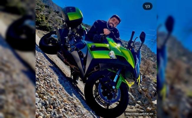 Tunceli'de, motosiklet kazası 1 ölü 1 yaralı