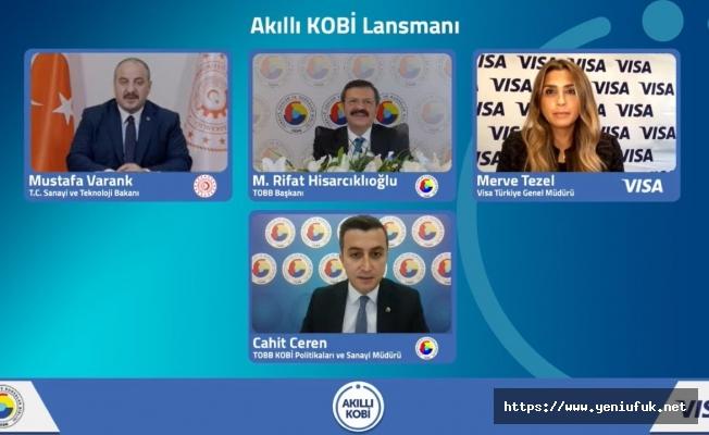 """Akıllı KOBİ Platformu"""" hizmete açıldı"""