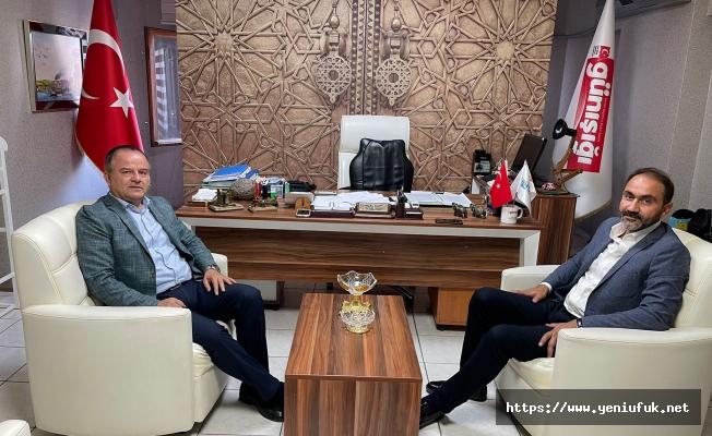 Başkan Adayı Duran Başkan Koca'yı Ziyaret Etti