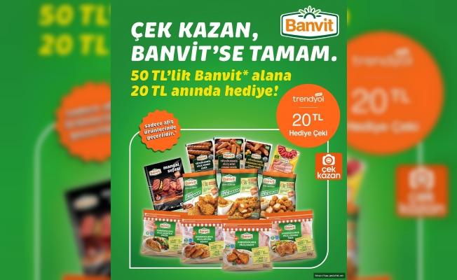 Çek Kazan Banvit'se Tamam!