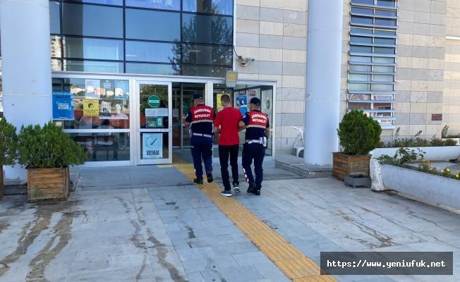 Hapis cezası bulunan firari yakalndı