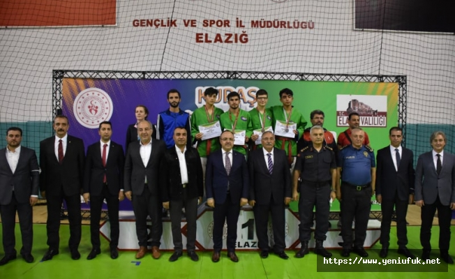 İl Protokolü Kuraş Türkiye Şampiyonasında