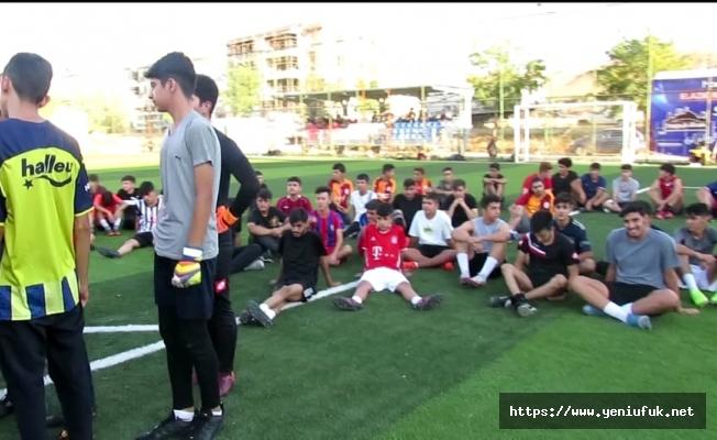 Karakoçan FK, gelişim ligleri için futbolcu seçmeleri yaptı
