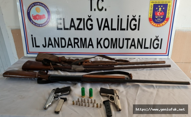 Ruhsatsız silah operasyonları devam ediyor