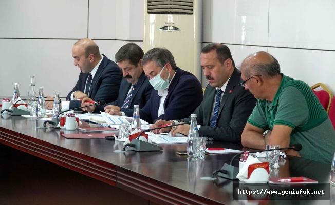 Tarımsal Kooperatifler ve OSB'ler  Değerlendirme Toplantısı Gerçekleşti