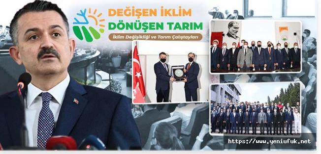 """""""Türkiye İklim Değişikliğine Seyirci Kalacak Bir Ülke Değil"""""""