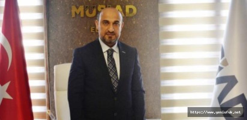 """Başkan Gürkan'dan """"29 Ekim Cumhuriyet Bayramı"""" Mesajı"""