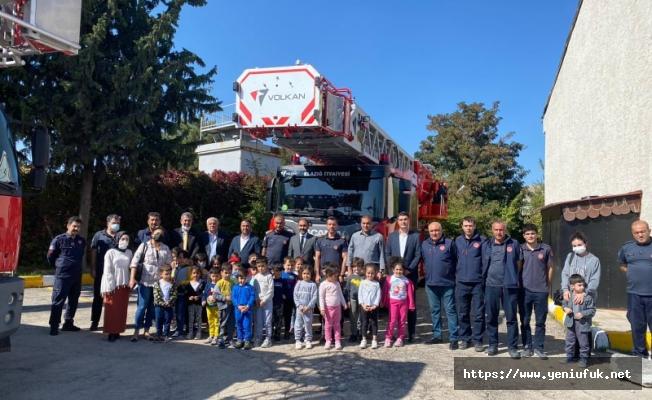 CHP İl Başkanından itfaiye personellerine ziyaret