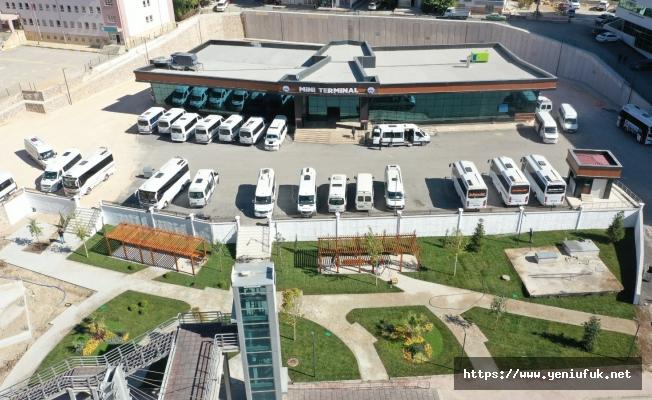 Elazığ Belediyesi Mini Terminal Binası Tamamlandı