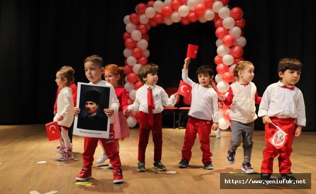 Fırat'ın Minikleri 29 Ekim'i Coşkuyla Kutladı