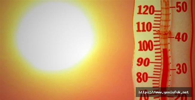 Sıcaklıklar Mevsim Normallerinin Üstünde