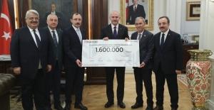 AK Partili Vekillerden Elazığ ve Malatya'ya 1 Milyon 600 Bin TL Bağış