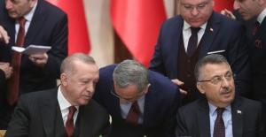 Başkan Öztürk, Hazırladığı Dosyayı Cumhurbaşkanı Erdoğan'a İletti